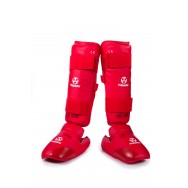 Hayashi Karate Shin/Instep Guards (WKF Approved)